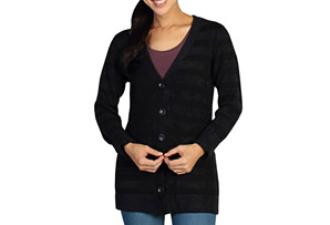 Irresistable Dolce Stripe Cardigan - Women's