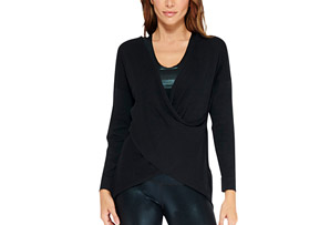 Zoe Criss Cross Sweater - Women's
