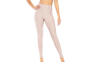 Textured Peach Legging - Women's