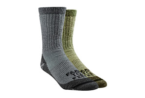 Boulder Mid Weight Crew Socks 2-Pack