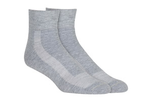 Unisex Athletic Quarter Socks