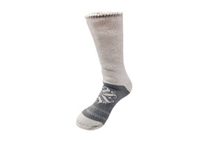 Heart Snowflake Thermal Socks - Women's