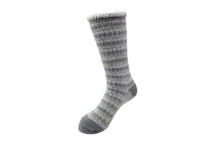 All Over Fairisle Thermal Socks - Women's