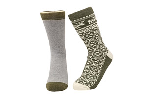 Super Soft 2-Pair Thermal Insulated Socks - Women's