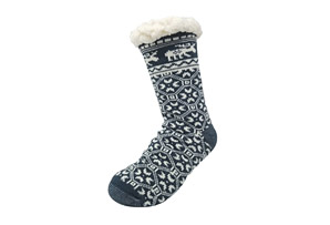 Moose Slippper Socks - Women's