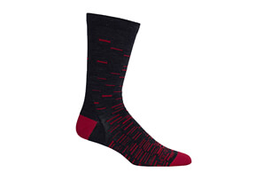 Icebreaker Lifestyle Ultra Light Fine Gauge Crew Gradient Socks