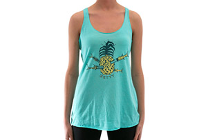 Pineapple Racer Tank - Women's