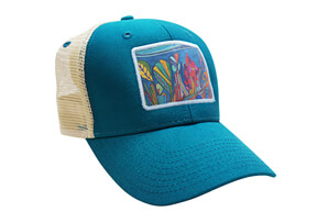 Coral Reef Baseball Hat