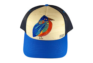 Eastern Bluebird Baseball Hat
