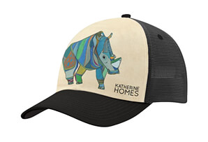 Northern White Rhino Baseball Hat