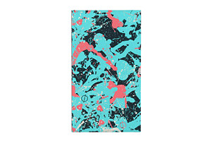 Splatter Beach Towel