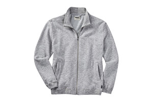 Heathered Full-Zip Layer - Men's