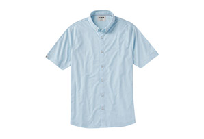 Hybrid Oxford Short-Sleeve Shirt - Men's