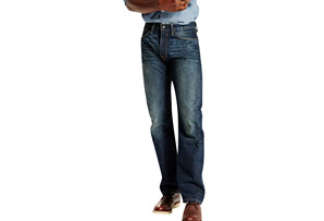 Levi's 505 Regular Fit Jeans - Men's