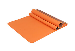 "2 Tone Eco Friendly Yoga Mat 24"" x 68"" x 4mm"