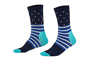 All Rounder Spots Crew Sock - Women's