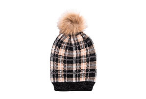 Oh Deer! Pom & Slouch Beanie