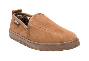 MUK LUKS Eric Suede Slippers - Men's