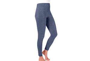 Marl Fleece-Lined Leggings - Women's