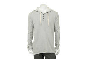 Terry Hoodie Long Sleeve - Men's
