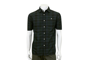 Dobby Button Up Short Sleeve - Men's