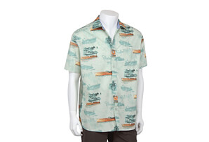 Classic Boat Button Up Short Sleeve - Men's