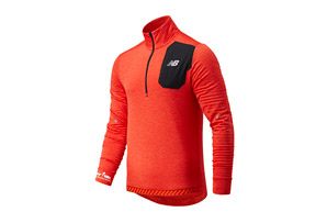 NB Heat Grid Half Zip - Men's