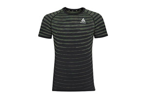 Odlo Blackcomb Pro Crew Short Sleeve - Men's