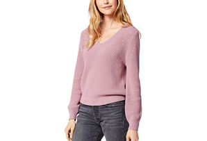 Emilie V-Neck Sweater - Women's