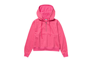 Fleece Half Zip Hoodie - Women's