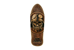 Star Wars Vader Inlay Collectible Skate Deck