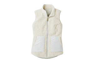 Anchor Line Reversible Sherpa Vest - Women's