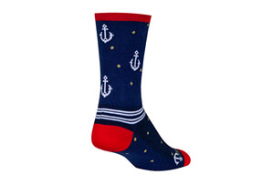 On A Boat Crew Socks