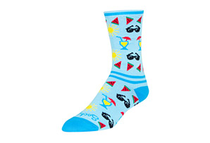 Poolside Crew Socks