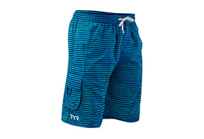 Micro Stripe Challenger Swim Short - Men's