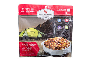 Chili Mac with Beef Camping Food 6-Pack