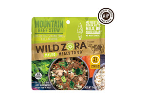 Mountain Beef Stew Meal