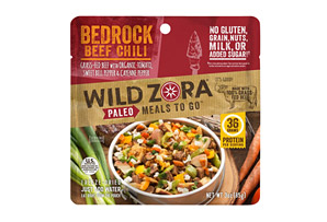Bedrock Beef Chili Meal