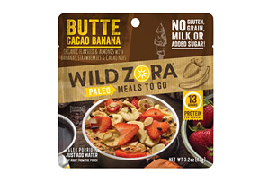 Butte Cacao Banana Breakfast Meal