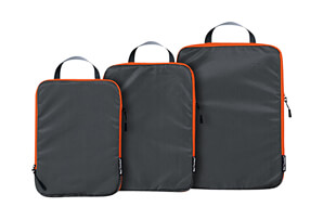 Well Traveled 3-Piece Compression Packing Cubes Set