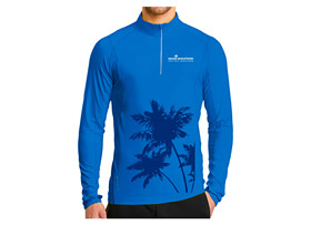 Palms Tech Pullover 1/4 Zip - Men's 2018