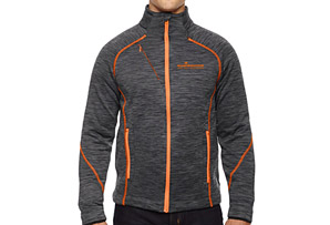 Fleece Flux Melange Full Zip Jacket - Men's
