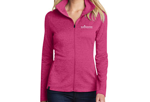 Pixel Pique Full Zip Jacket - Women's
