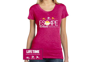Escape SS Tri-Blend Tee - Women's 2017