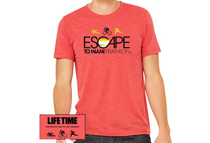 Escape SS Tri-Blend Tee - Men's 2017
