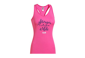 Stronger by the Mile Racerback Tech Singlet - Women's 2017