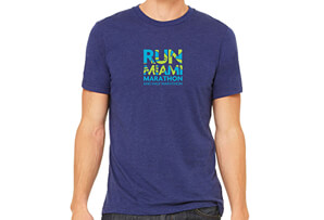 Run Miami Tri-Blend SS Tee - Men's 2018