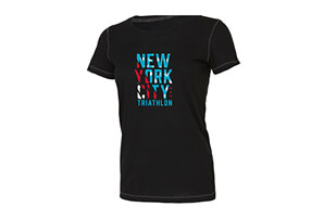 'Stars & Stripes' Tri-Blend SS Tech Tee - Women's 2018