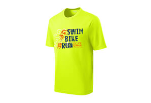 'SwimBikeRun' SS Tech Tee - Men's 2018