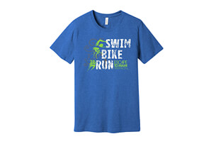 'SwimBikeRun' SS Lifestyle Tee - Men's 2018